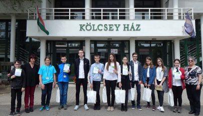 Nemzetközi díjak diákjainknak