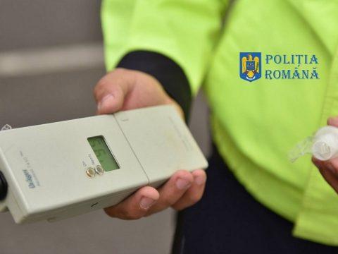 Rekordmagas légalkohol-koncentrációt mértek a rendőrök egy gépkocsivezetőnél