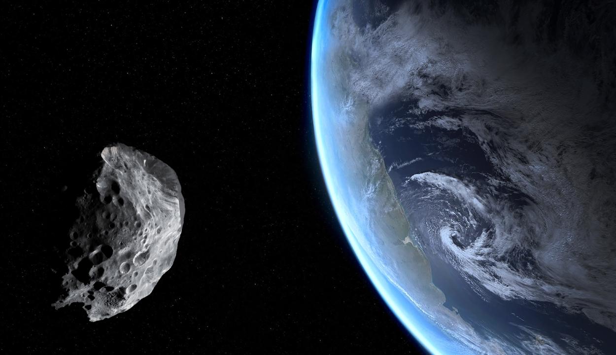 A Földre potenciálisan veszélyt jelentő aszteroidát észleltek
