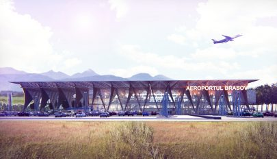 Egy nagyszebeni cég építheti meg a vidombáki repülőtér terminálját
