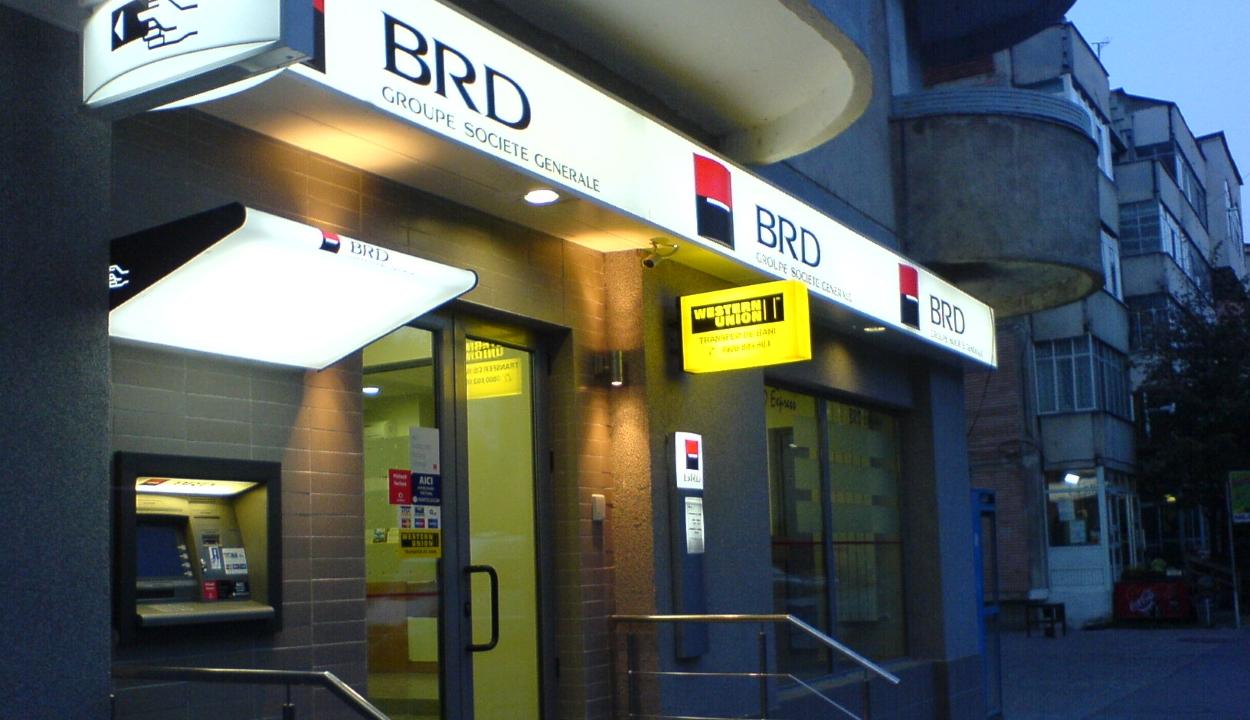 Hétfőre virradóan nem működnek a BRD automaitái és nem használhatók a bankkártyái