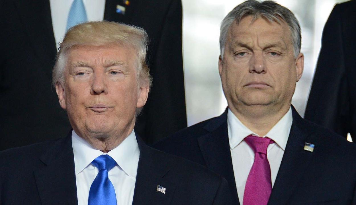 Trump munkalátogatásra hívta Orbán Viktort