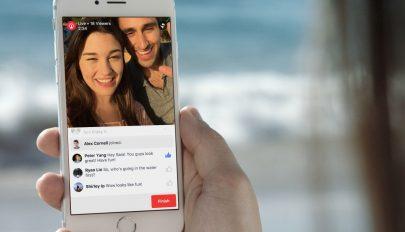 Korlátozza az élő közvetítéseket a Facebook
