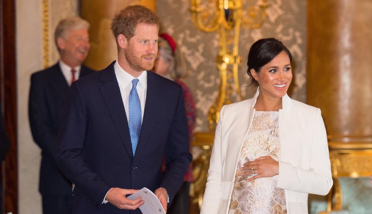 Kisfia született Meghan hercegnének és Harry hercegnek