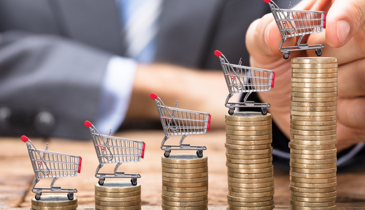 2,8 százalékra nőtt az éves infláció júliusban