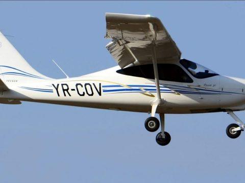 Lezuhant egy kisrepülőgép Buzău megyében, két személy meghalt