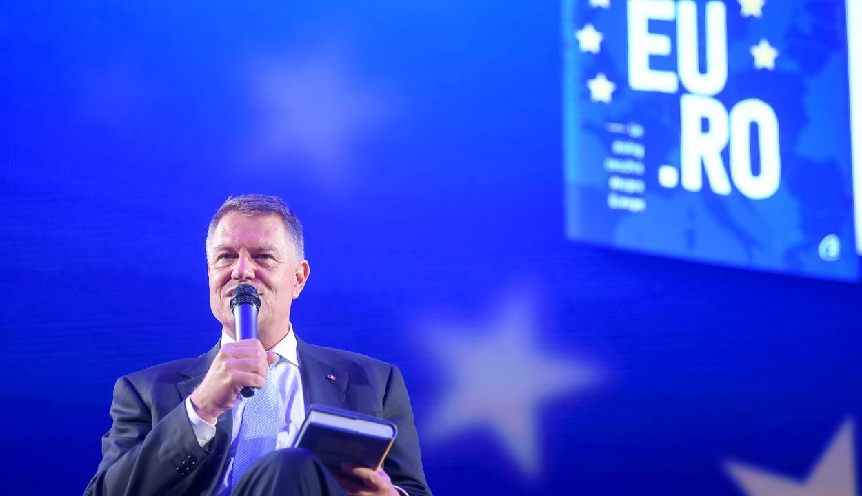 Johannis: vasárnap este tudni fogjuk, hogy az Európa melleti, vagy elleni Románia győzött-e