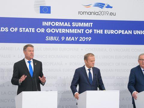 Johannis: örülök, hogy Romániából indul egy egységes, pozitív üzenet az Európai Unió megerősítéséért