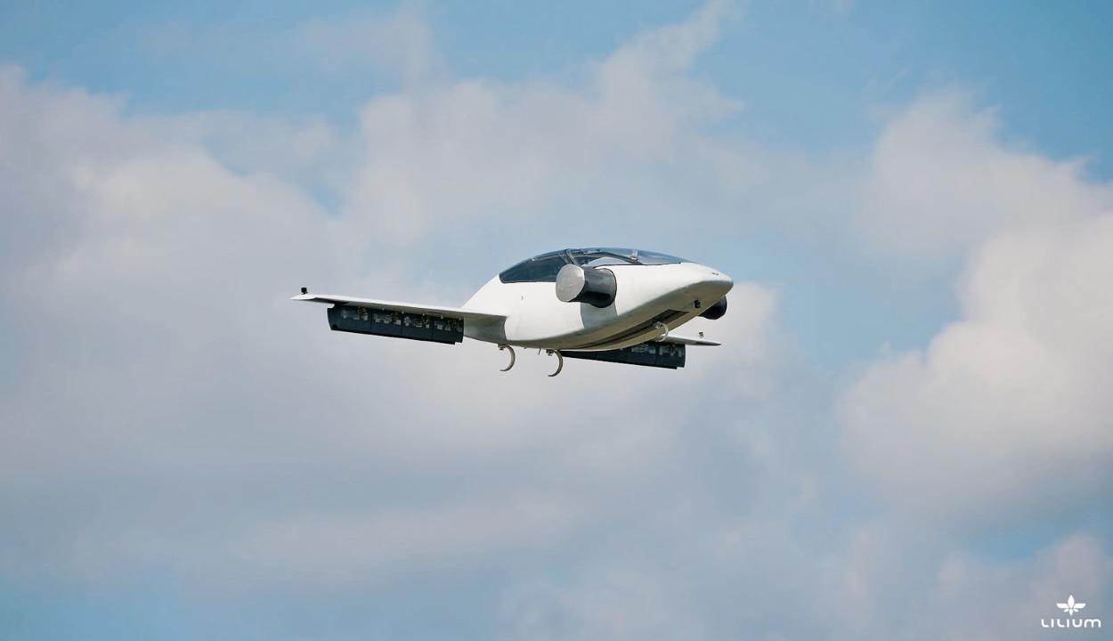 Repülő taxit fejlesztett egy német cég