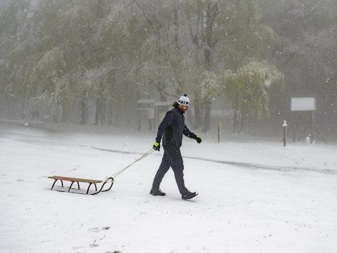 Havazott több magyarországi hegyen