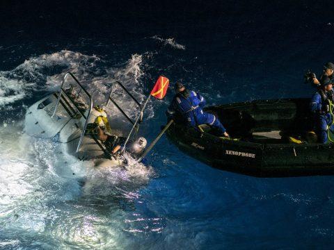 Megdőlt a mélységi merülési rekord