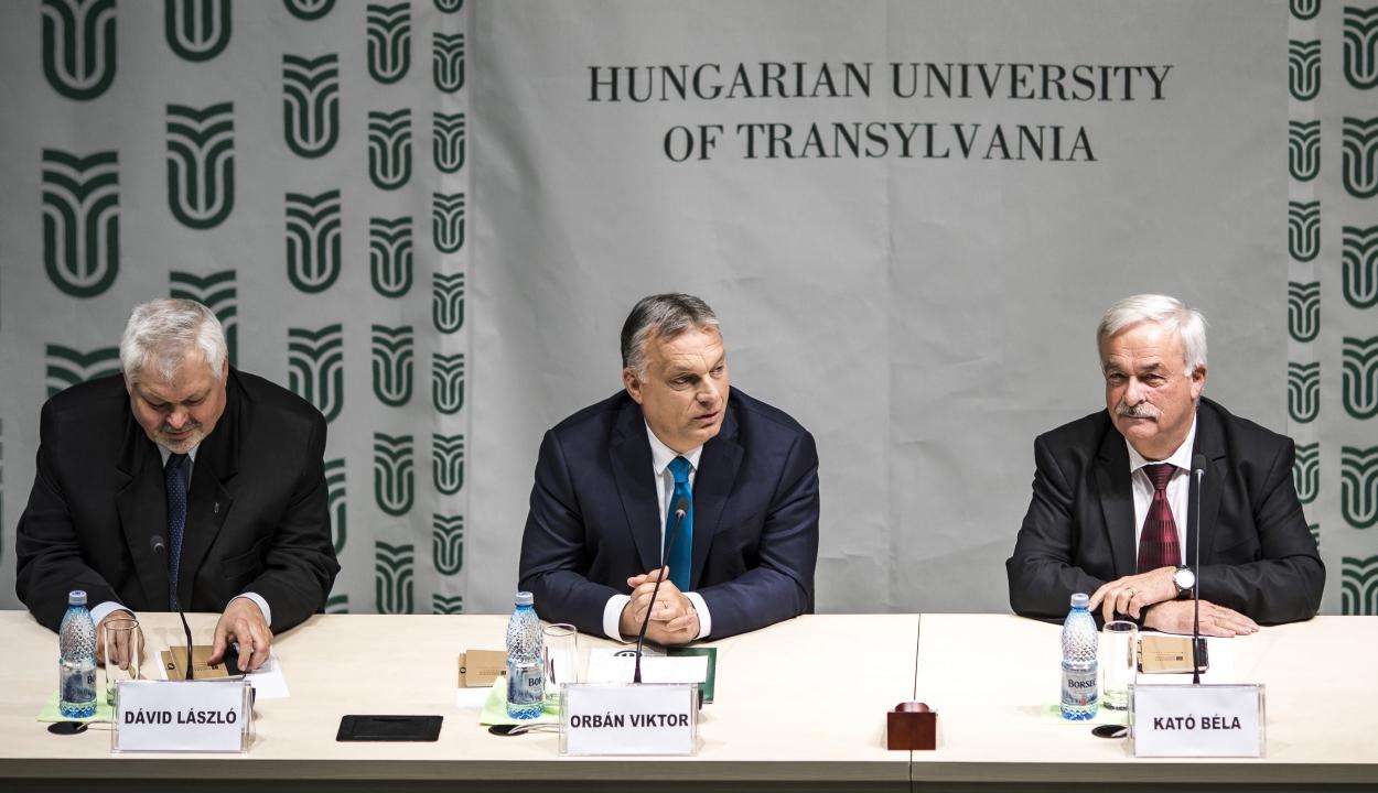 Orbán Kolozsváron: minden európai ország elsőszámú kérdése az EP-választáson a migráció ügye