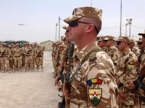 Megsérült öt román katona Afganisztánban