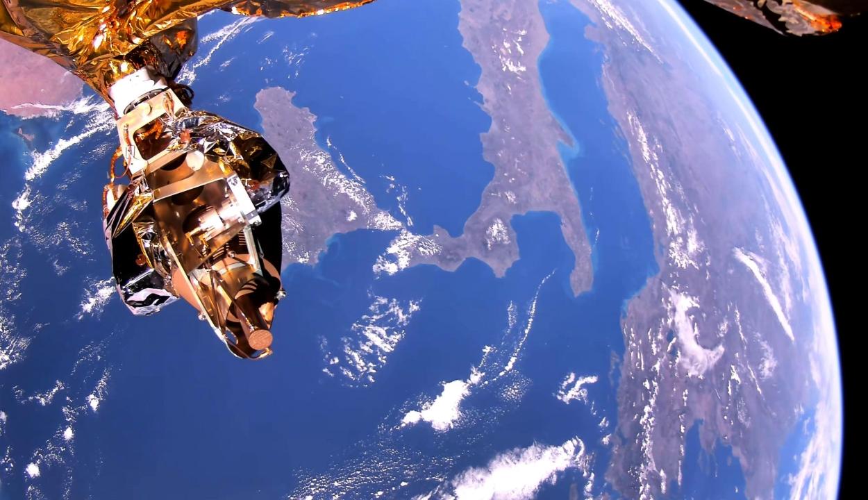 Lenyűgöző felvételen látható a Föld