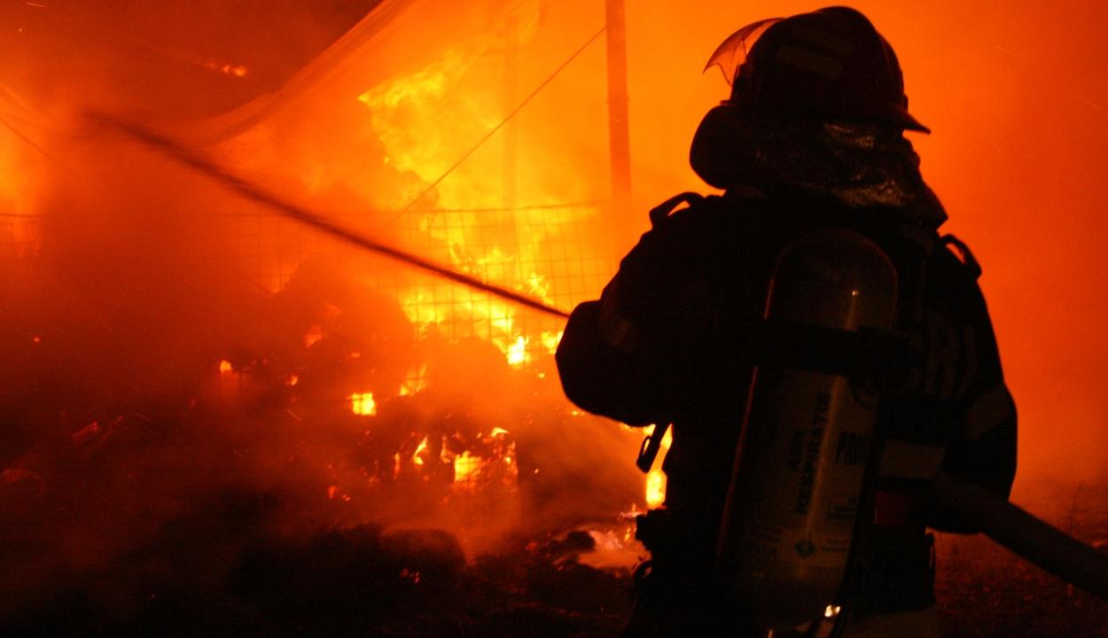 Tűz Zágonban