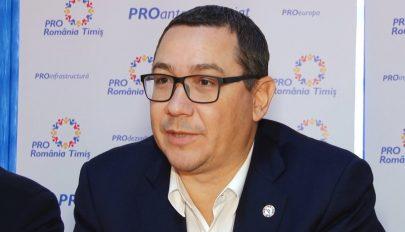 Ponta: a Pro Románia nem köt politikai szövetséget a PSD-vel vagy a PNL-vel