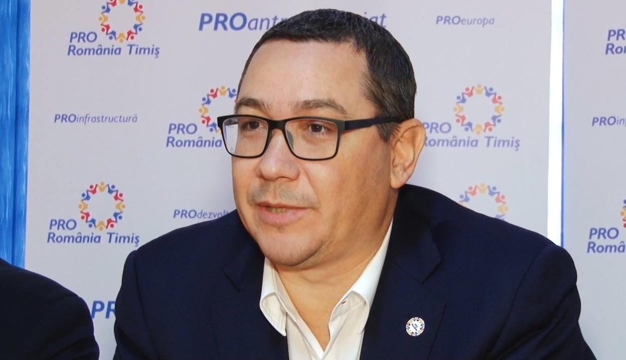 A Pro Románia a helyhatósági választásokkal egyidőben szeretne előrehozott választásokat