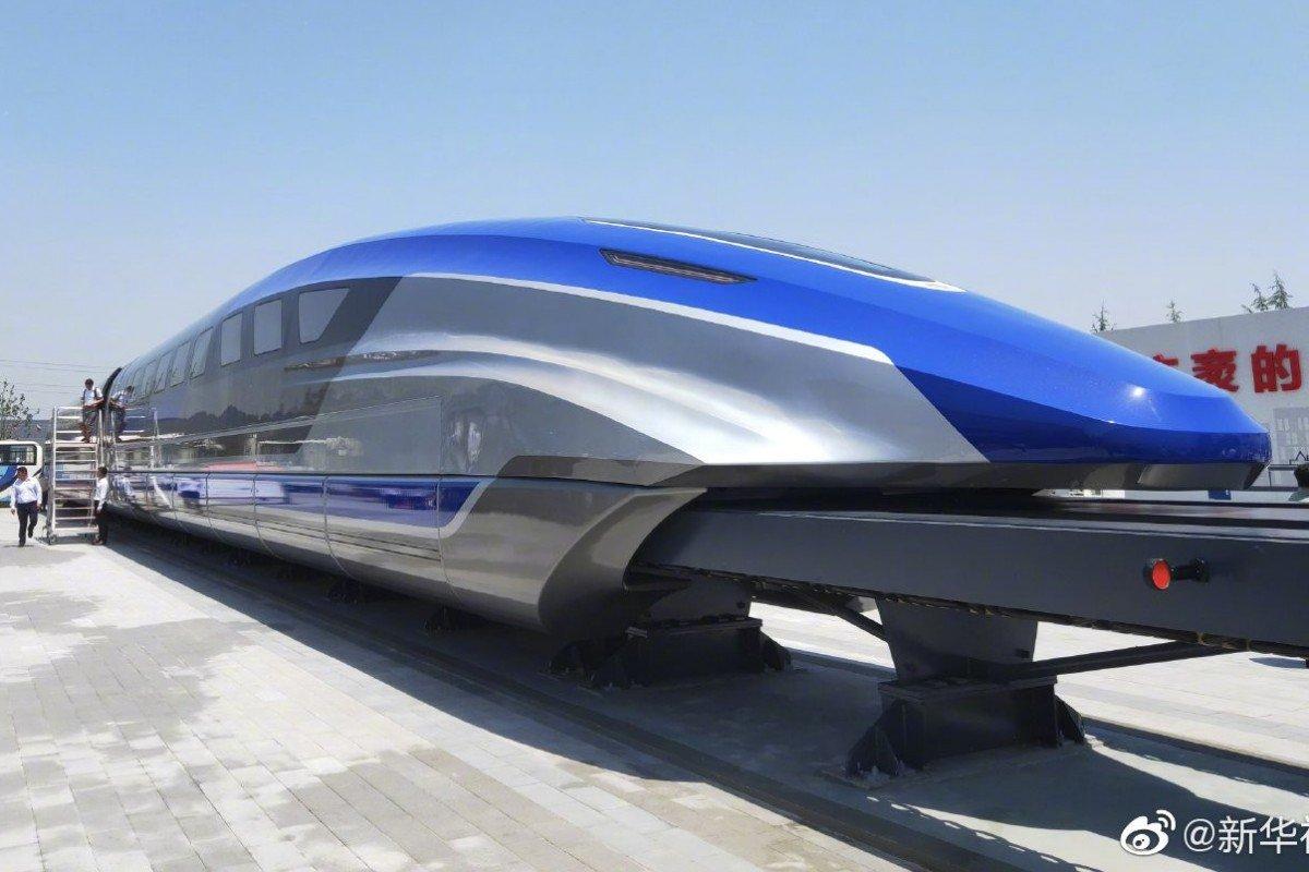 600 km/óra végsebességű vonatot fejlesztettek ki Kínában