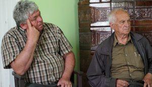 Lukács Attila (balról) és Pál István. Remélik, hogy a Láros nem veszíti el az erdőjét, mint ahogy évekkel ezelőtt történt