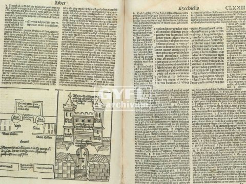 1497-ben nyomtatott Bibiliára bukkantak a gyulafehérvári egyházmegye csíkszeredai levéltárában