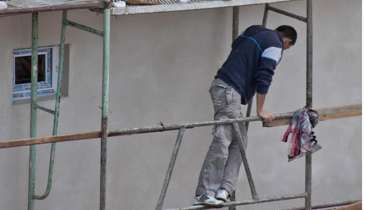 Veszélyes az építőipar