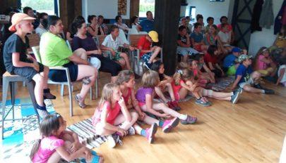 Egyedülálló szülők gyerekei táboroztak
