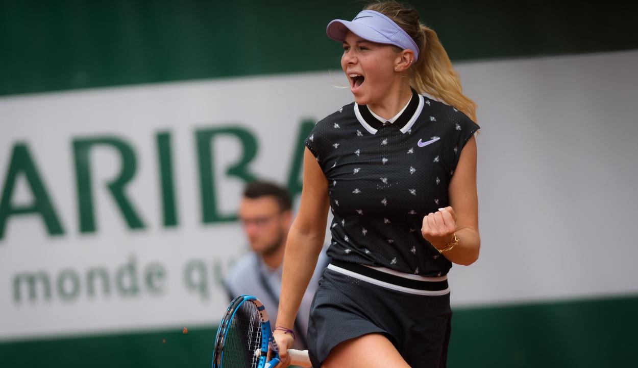 17 éves tinilány győzte le Halepet a Roland Garros negyeddöntőjében