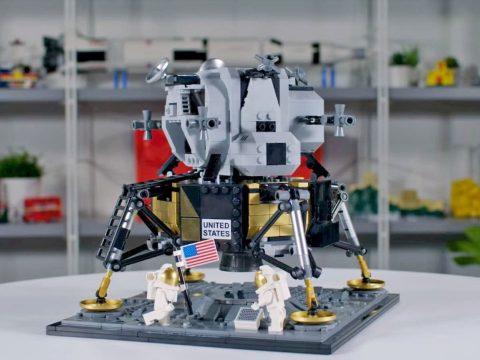 Apollo 11-es szettet adott ki a LEGO a holdra szállás 50. évfordulójára