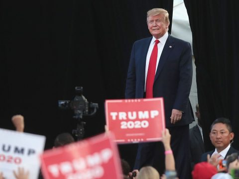 Donald Trump 2020-ban újra indul az elnökségért