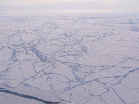 Rendkívül lecsökkent az északi-sarkvidéki jégmező kiterjedése
