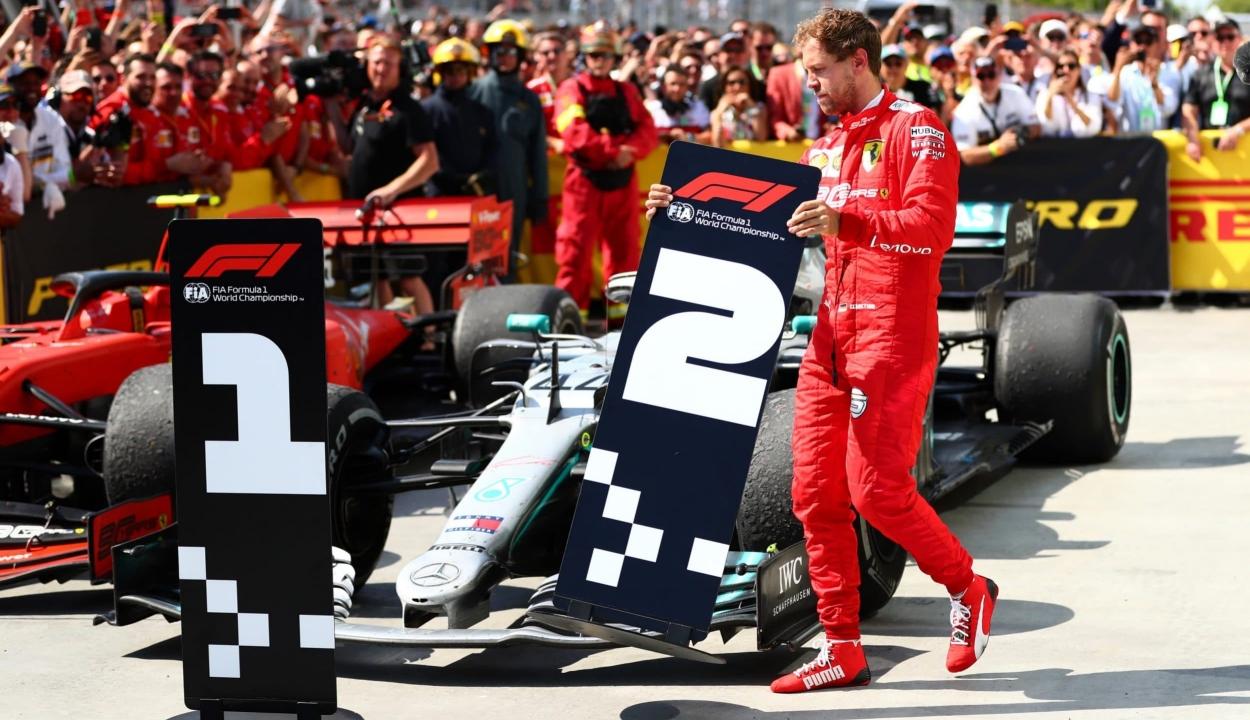 Forma-1: Vettel lett az első, mégis Hamilton győzött Kanadában