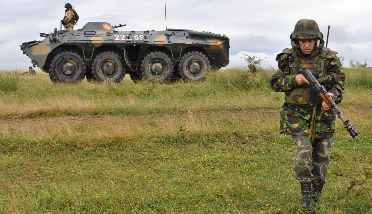 Nagyszabású nemzetközi hadgyakorlat kezdődött Romániában