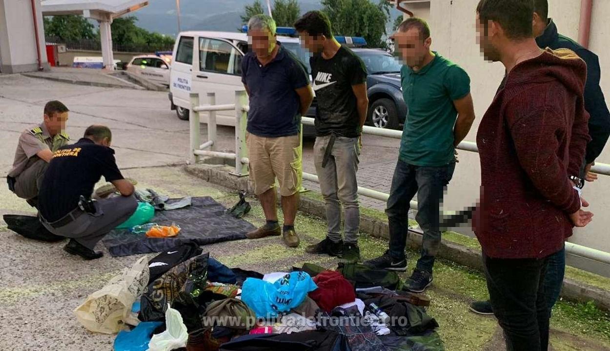 A Dunán illegálisan átkelt bevándorlókat fogott el a román határrendészet