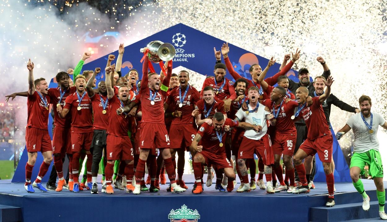 A Liverpool nyerte a Bajnokok Ligája döntőjét
