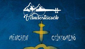 Jól mutat a plakáton a Rancz Zsolt és a Wameleon csapat tervezte Vándortücsök-logó