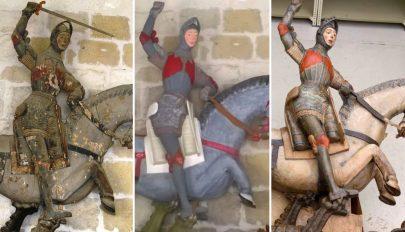 Önjelölt restaurátorok által elrontott ötszáz éves szobrot mentettek meg Spanyolországban
