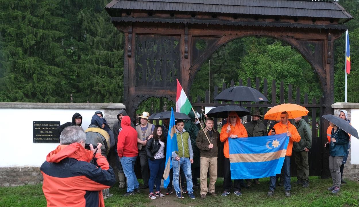 Úzvölgyi katonatemető: Csíkszeredában szerveznek tiltakozó megmozdulást