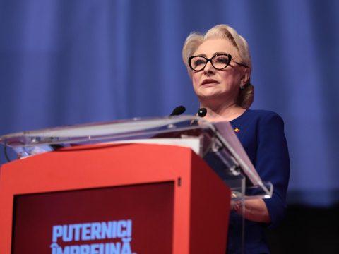 Viorica Dăncilă miniszterelnököt választották a PSD elnökévé