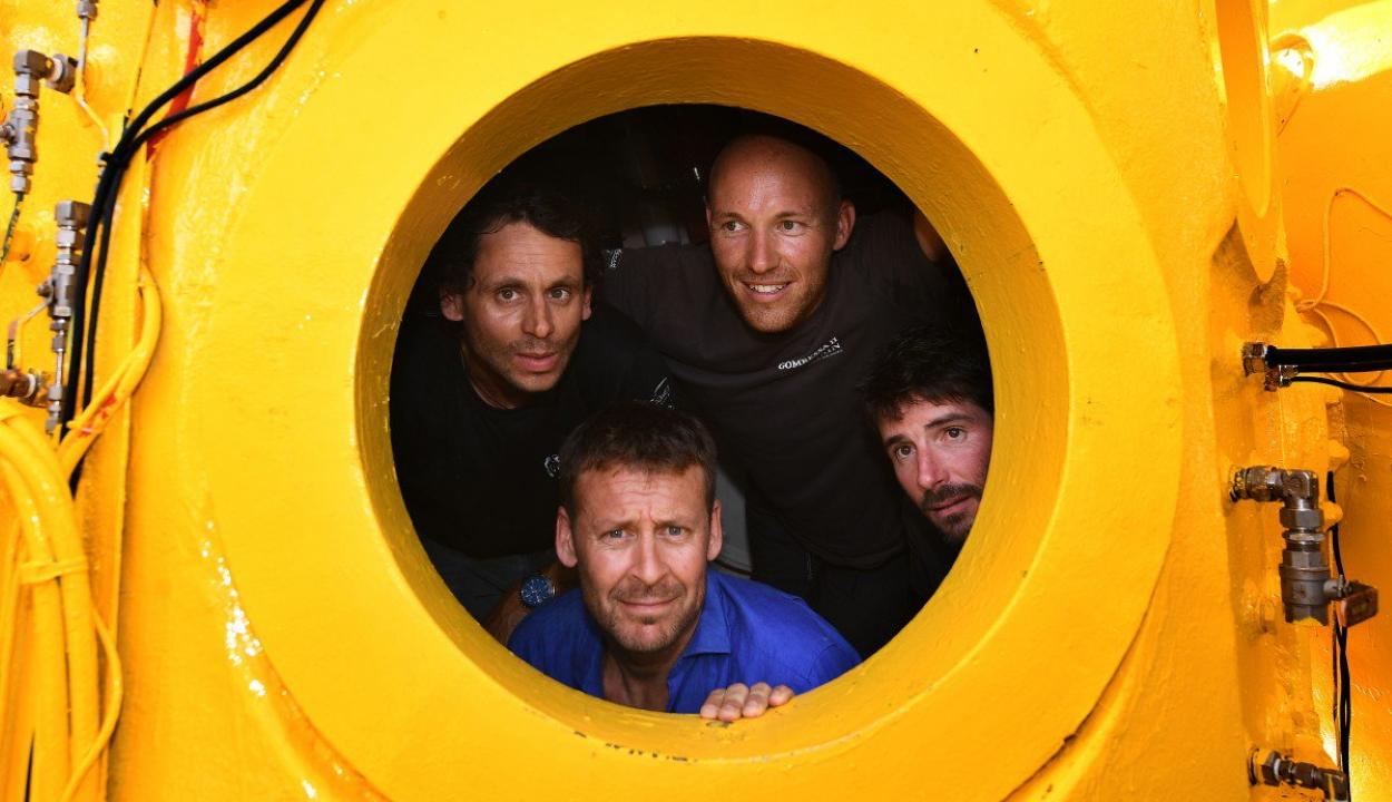 Rekordideig kutatta a Földközi-tenger mélyét egy francia kutatócsoport