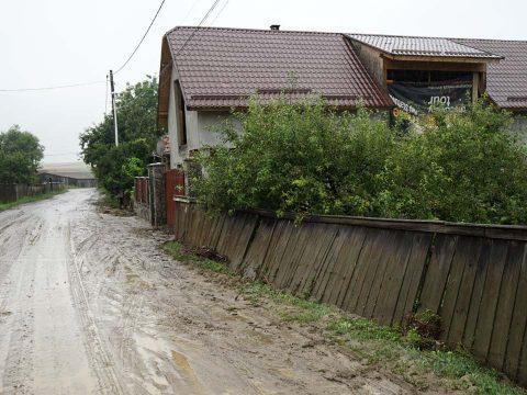 A fél falut áztatta a víz
