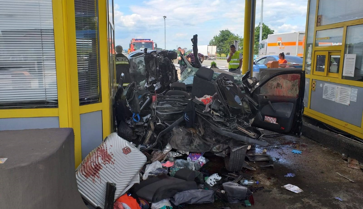 Drog és gyógyszer hatása alatt állt a Horvátországban súlyos balesetet okozó BMW sofőrje