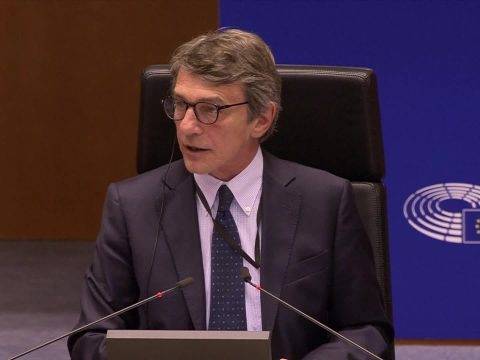A szociáldemokrata David-Maria Sassoli lett az Európai Parlament elnöke