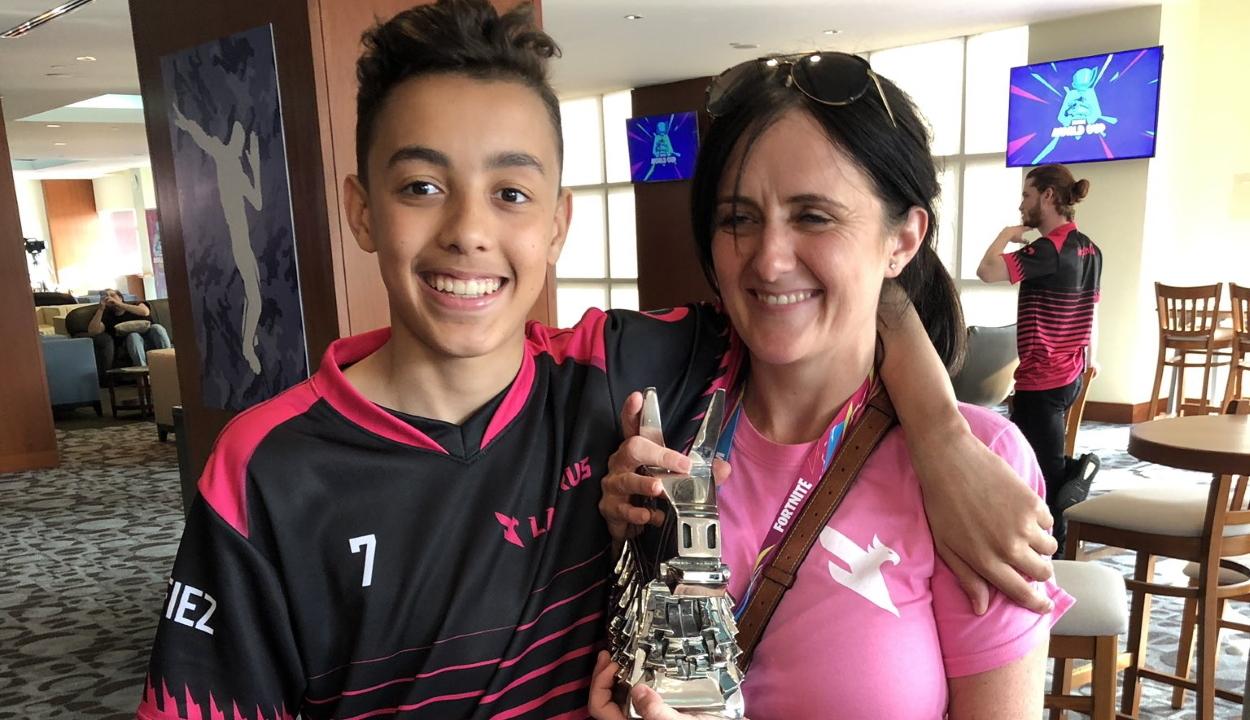 Milliókat nyert a Fortnite videójátékkal egy 15 éves brit fiú