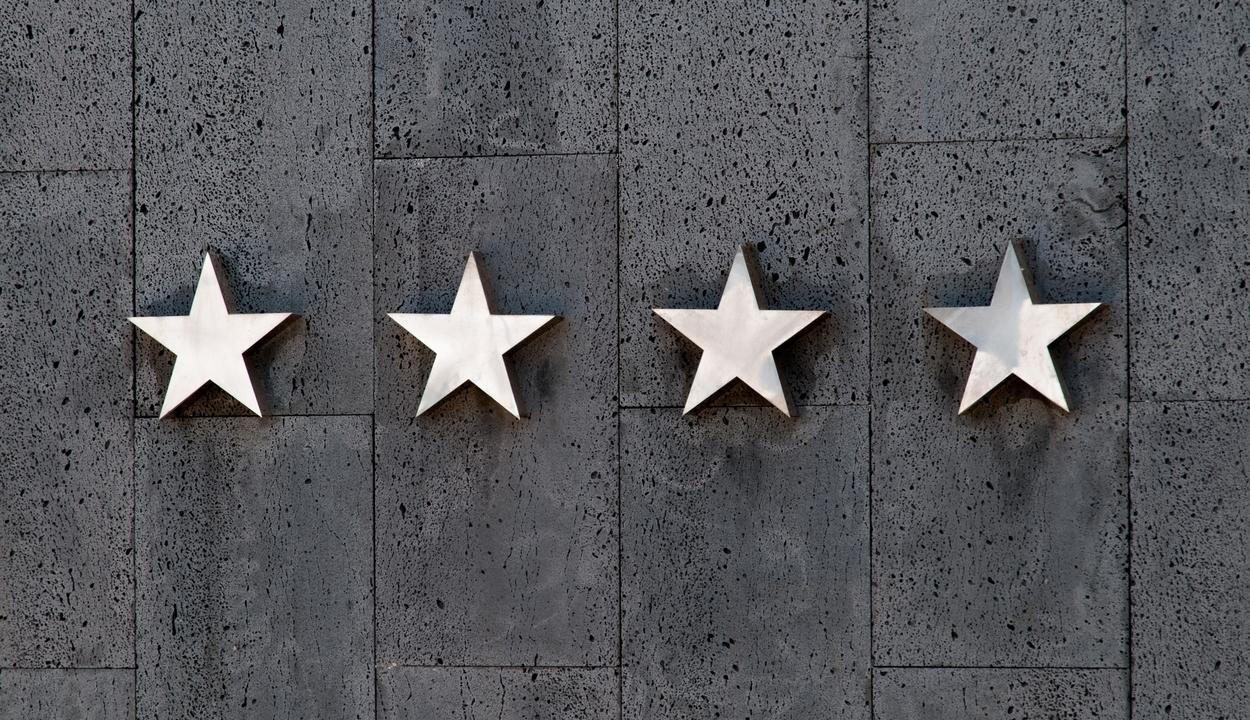 Mit jelentenek a szállodák csillagai