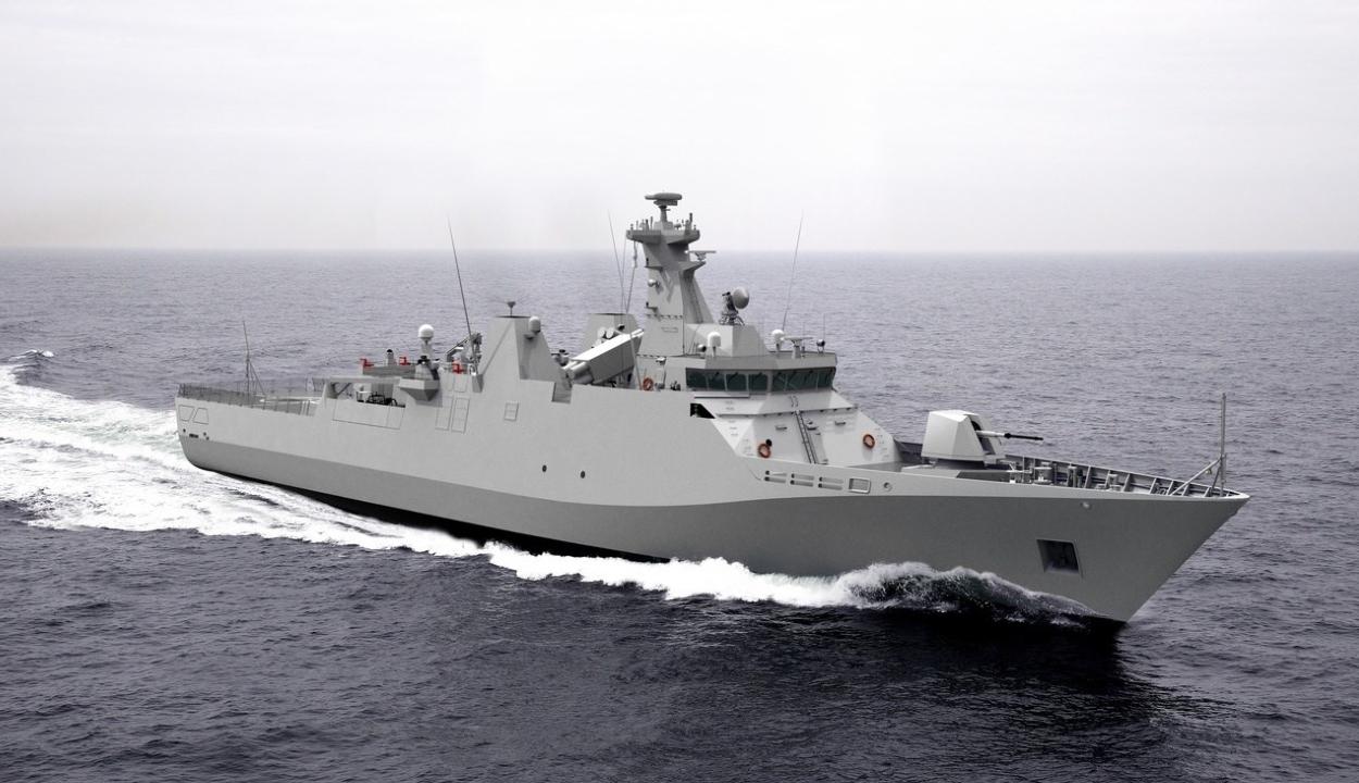 1,2 milliárd eurót költ Románia négy új hadihajóra