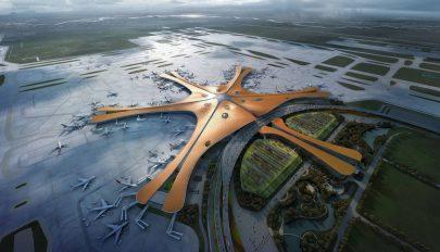 Elkészült a világ legnagyobb repülőtere Pekingben