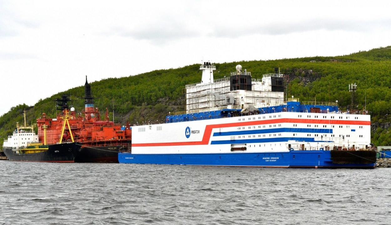 Atomerőművet vontatna az Északi-sarkra Oroszország