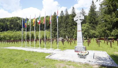Úzvölgyi katonatemető: az érintett országok véleményére vár a román védelmi minisztérium