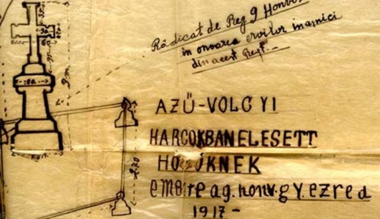 Úzvölgyén eltemetett katona közül három nem a román hadseregben szolgált