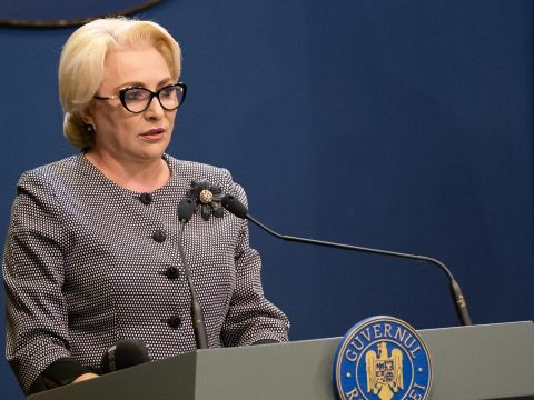Dăncilă: ezt a filmet már láttuk, a bizalmatlansági indítvány nem fog célba érni